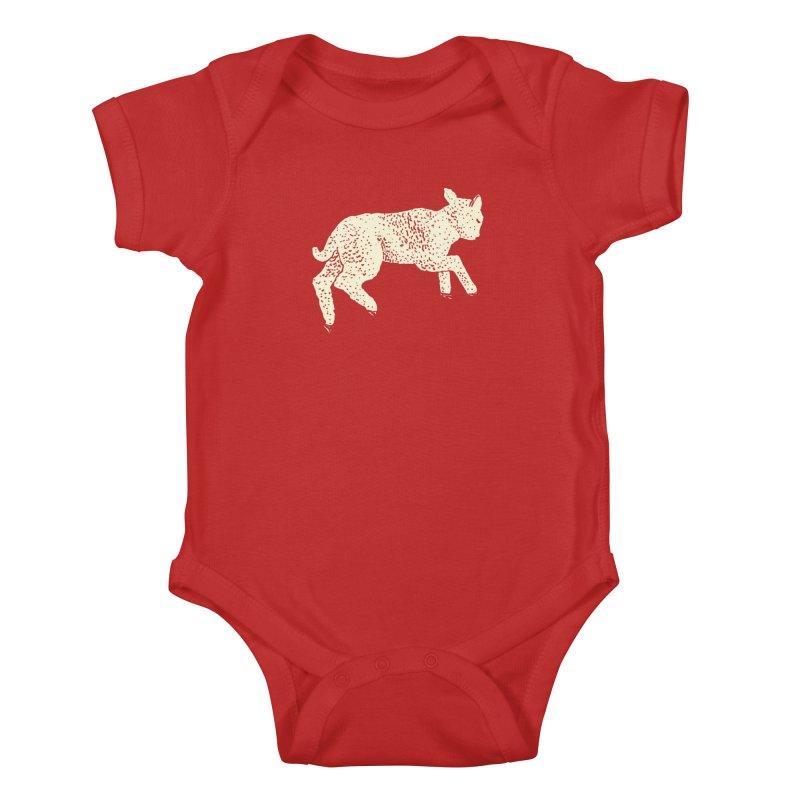 Little Leaping Lamb Kids Baby Bodysuit by Martina Scott's Shop