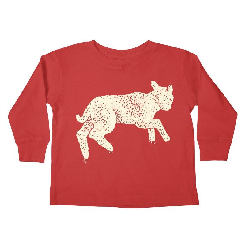 Little Leaping Lamb Kids Toddler Longsleeve T-Shirt by Martina Scott's Shop