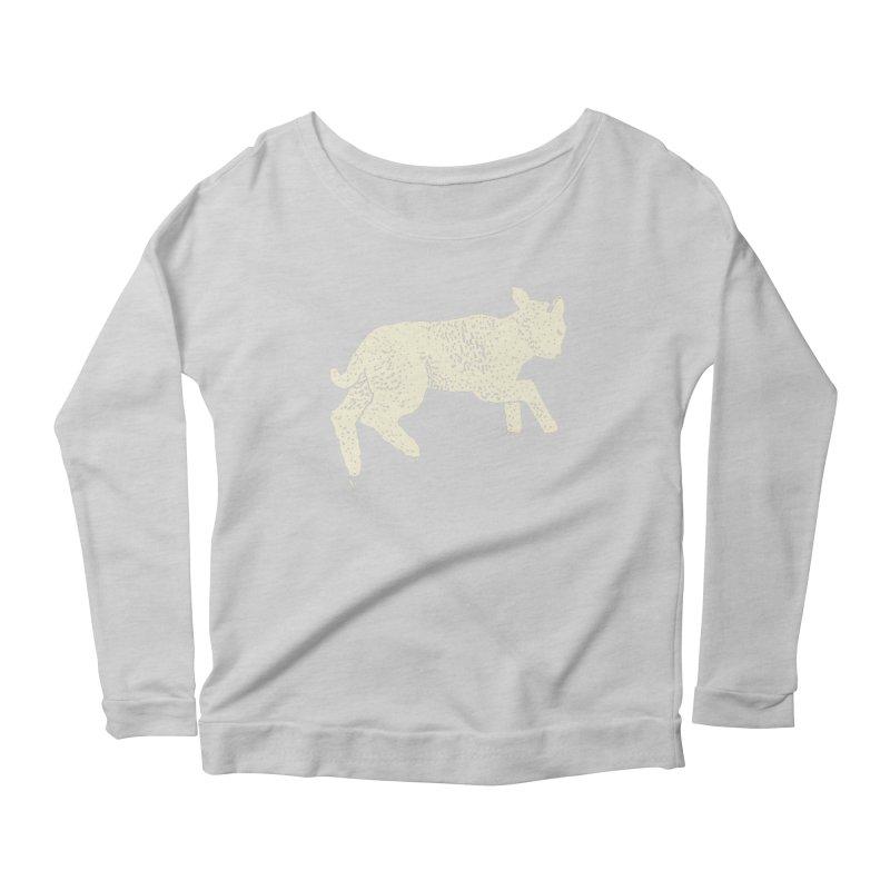 Little Leaping Lamb Women's Scoop Neck Longsleeve T-Shirt by Martina Scott's Shop