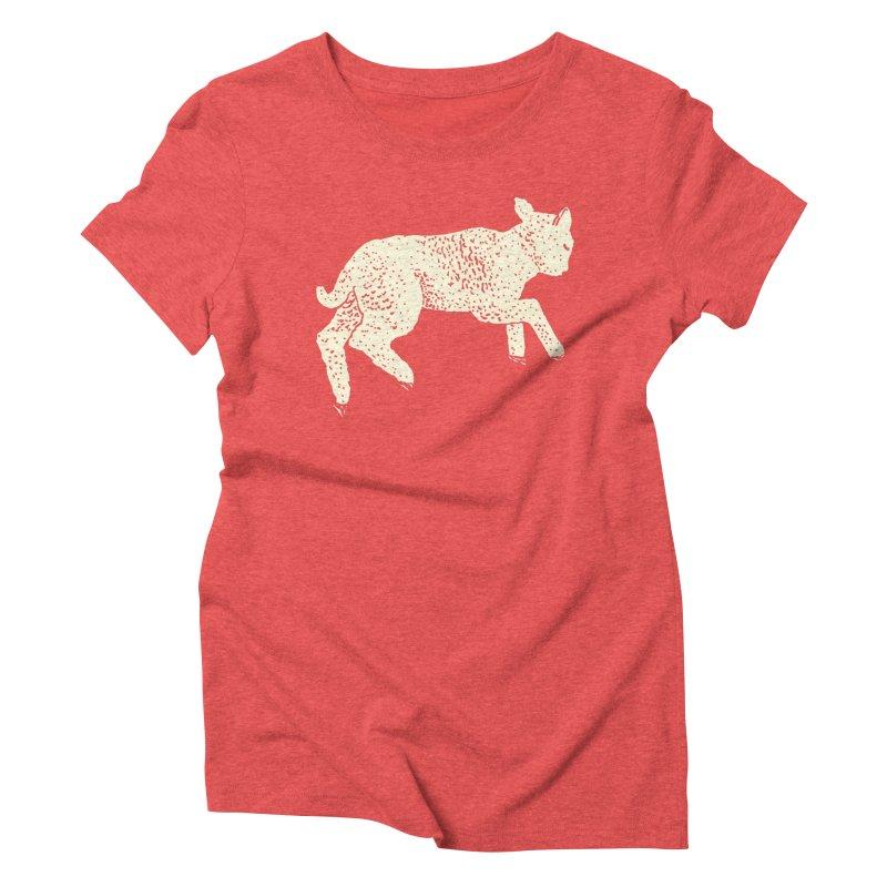 Little Leaping Lamb Women's Triblend T-Shirt by Martina Scott's Shop