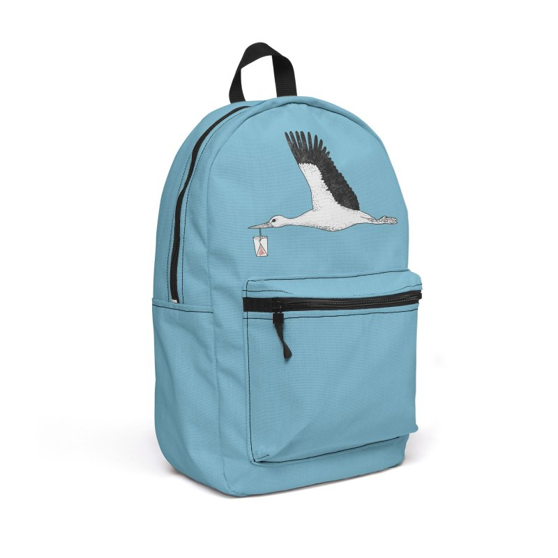 Special Delivery Accessories Backpack Bag by Martina Scott's Shop