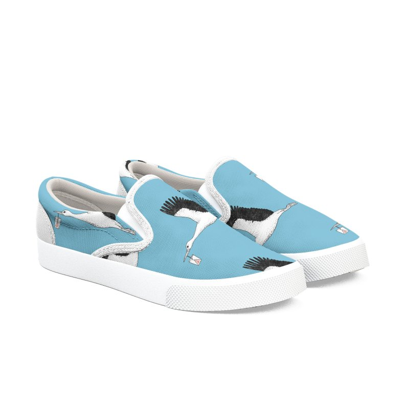 Special Delivery Women's Slip-On Shoes by Martina Scott's Shop