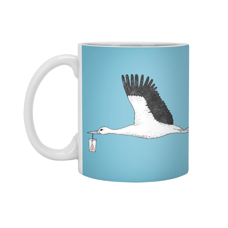 Special Delivery Accessories Standard Mug by Martina Scott's Shop