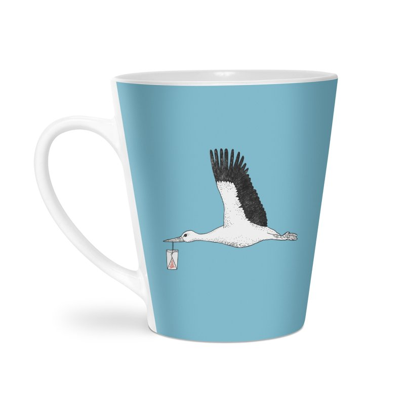 Special Delivery Accessories Latte Mug by Martina Scott's Shop