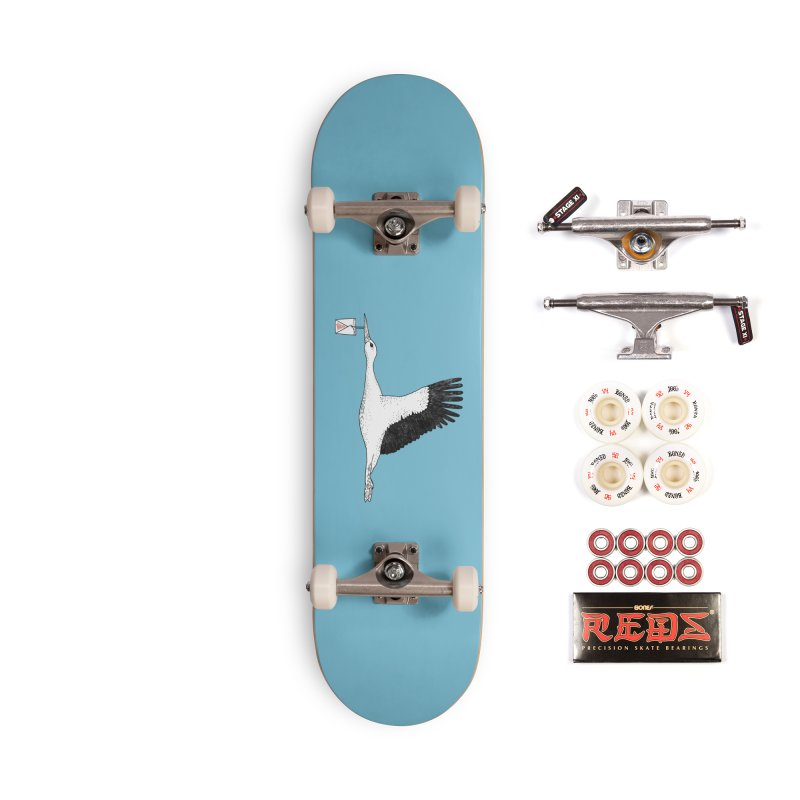 Special Delivery Accessories Complete - Pro Skateboard by Martina Scott's Shop
