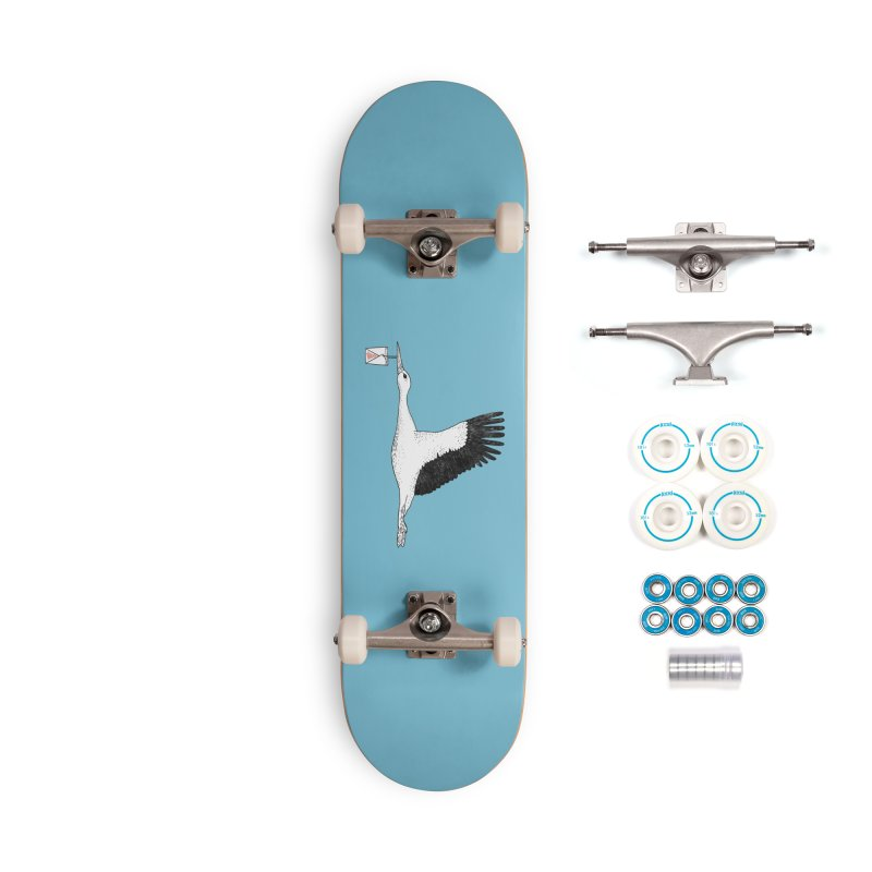 Special Delivery Accessories Complete - Basic Skateboard by Martina Scott's Shop