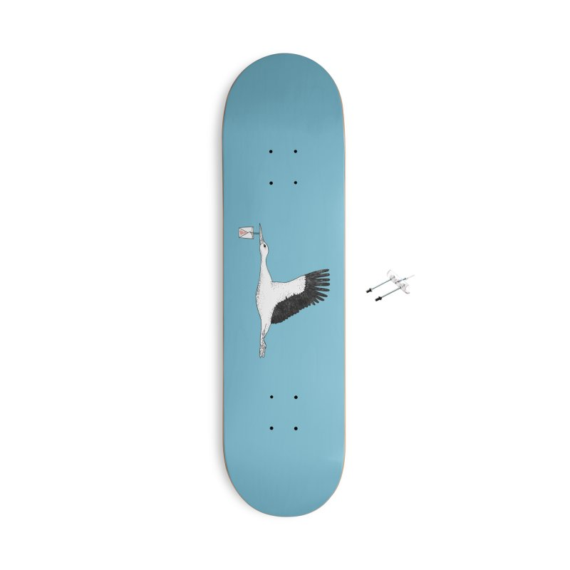 Special Delivery Accessories With Hanging Hardware Skateboard by Martina Scott's Shop