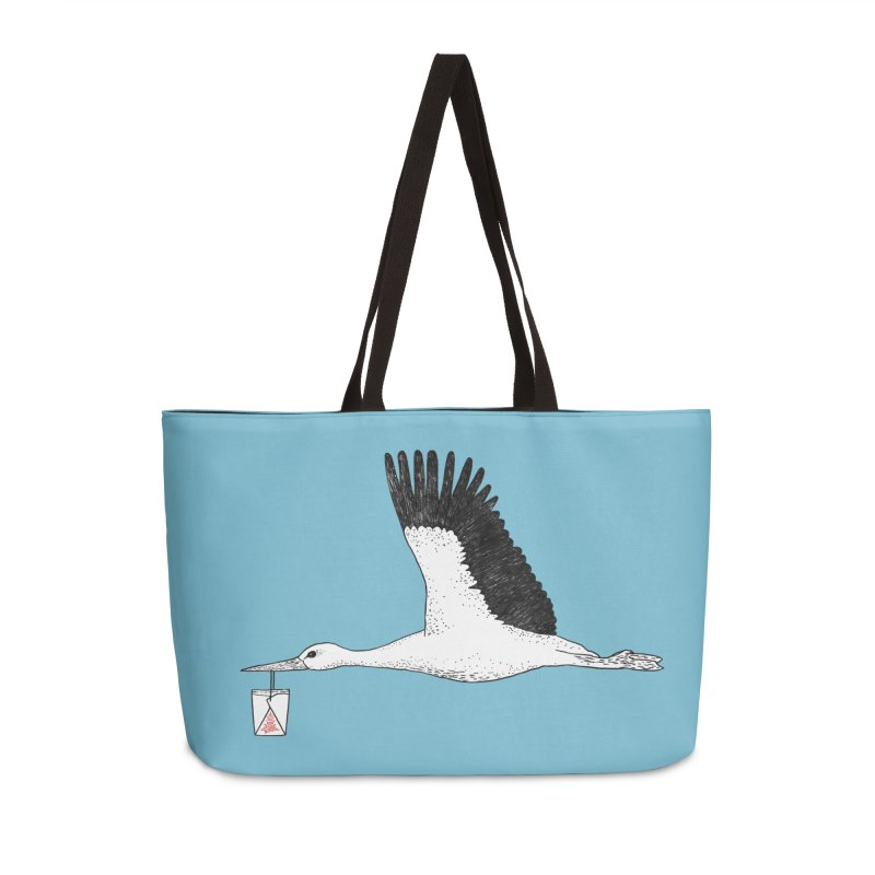 Special Delivery Accessories Weekender Bag Bag by Martina Scott's Shop