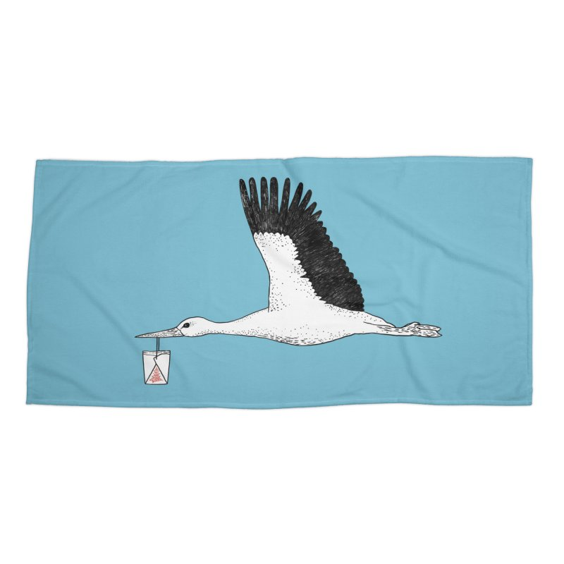 Special Delivery Accessories Beach Towel by Martina Scott's Shop
