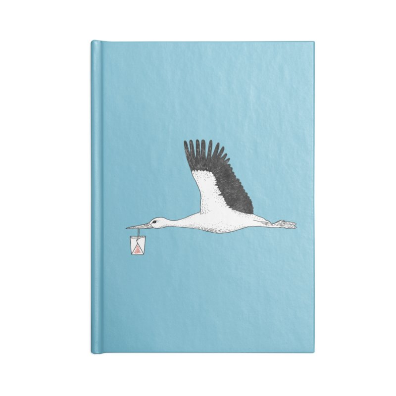 Special Delivery Accessories Notebook by Martina Scott's Shop