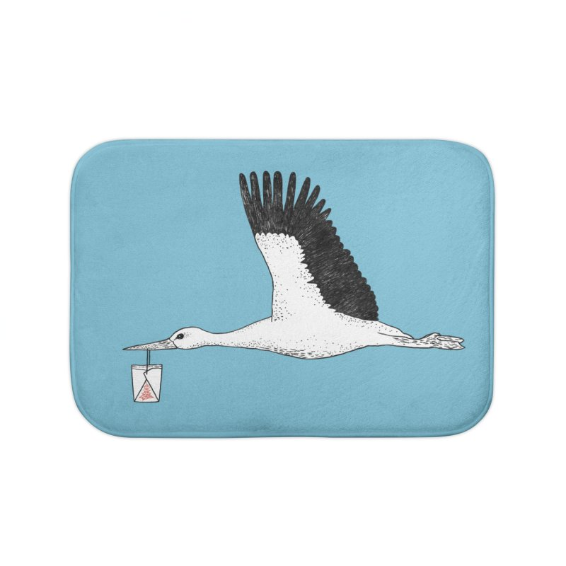 Special Delivery Home Bath Mat by Martina Scott's Shop