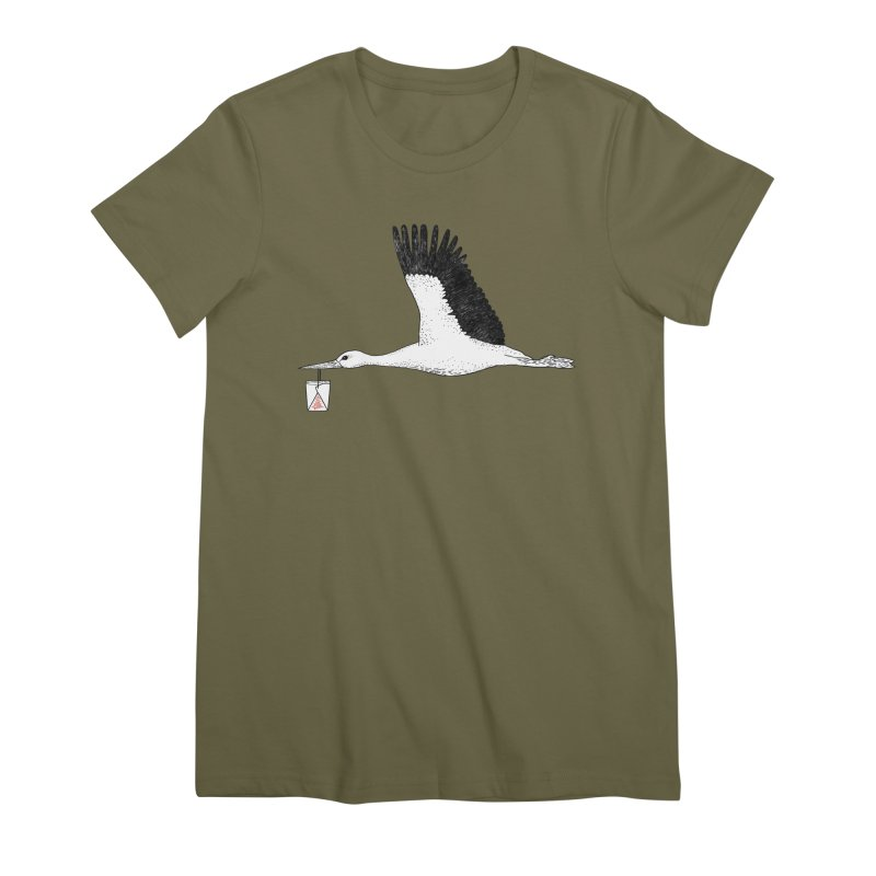 Special Delivery Women's Premium T-Shirt by Martina Scott's Shop