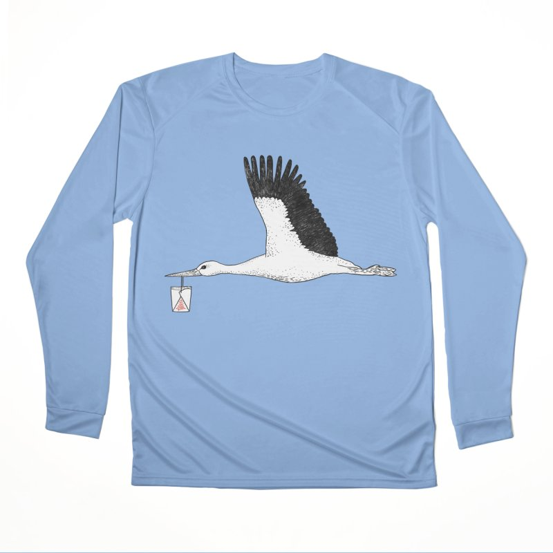 Special Delivery Men's Longsleeve T-Shirt by Martina Scott's Shop