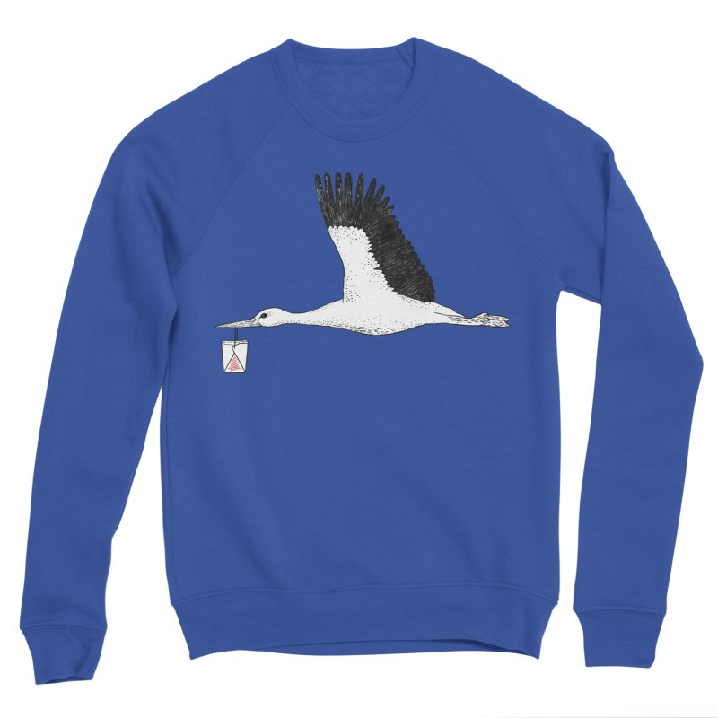 Special Delivery Women's Sponge Fleece Sweatshirt by Martina Scott's Shop