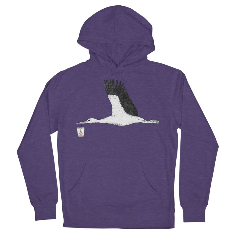 Special Delivery Women's French Terry Pullover Hoody by Martina Scott's Shop