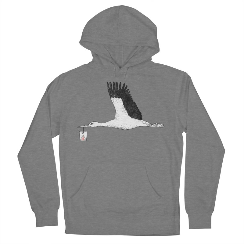 Special Delivery Men's French Terry Pullover Hoody by Martina Scott's Shop