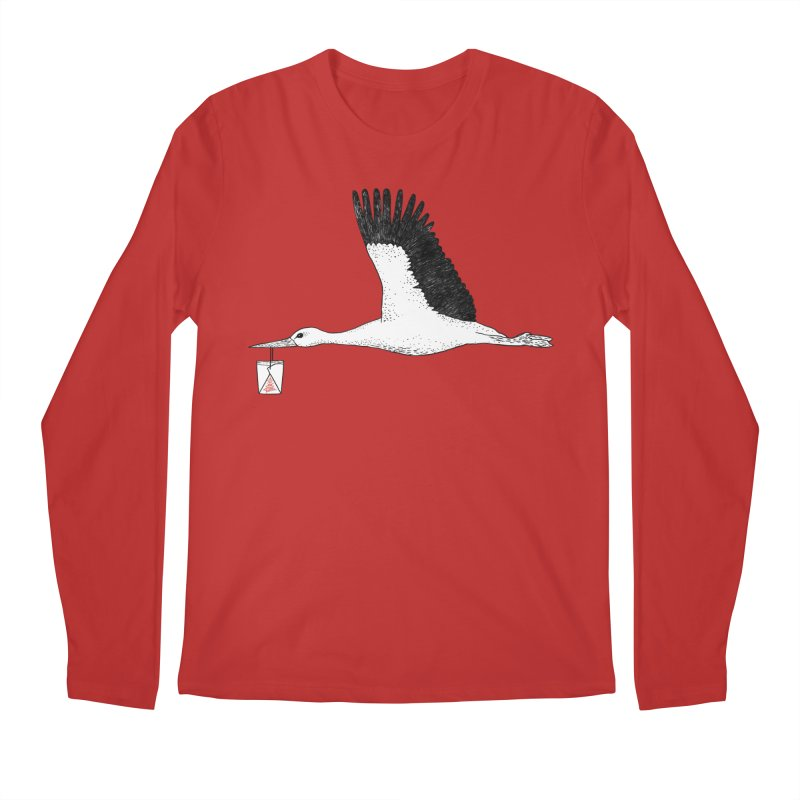 Special Delivery Men's Regular Longsleeve T-Shirt by Martina Scott's Shop