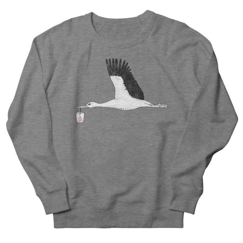 Special Delivery Men's French Terry Sweatshirt by Martina Scott's Shop