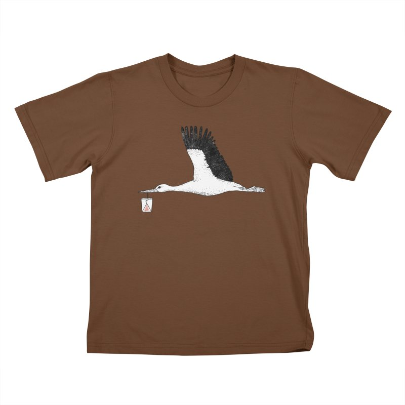 Special Delivery Kids T-Shirt by Martina Scott's Shop