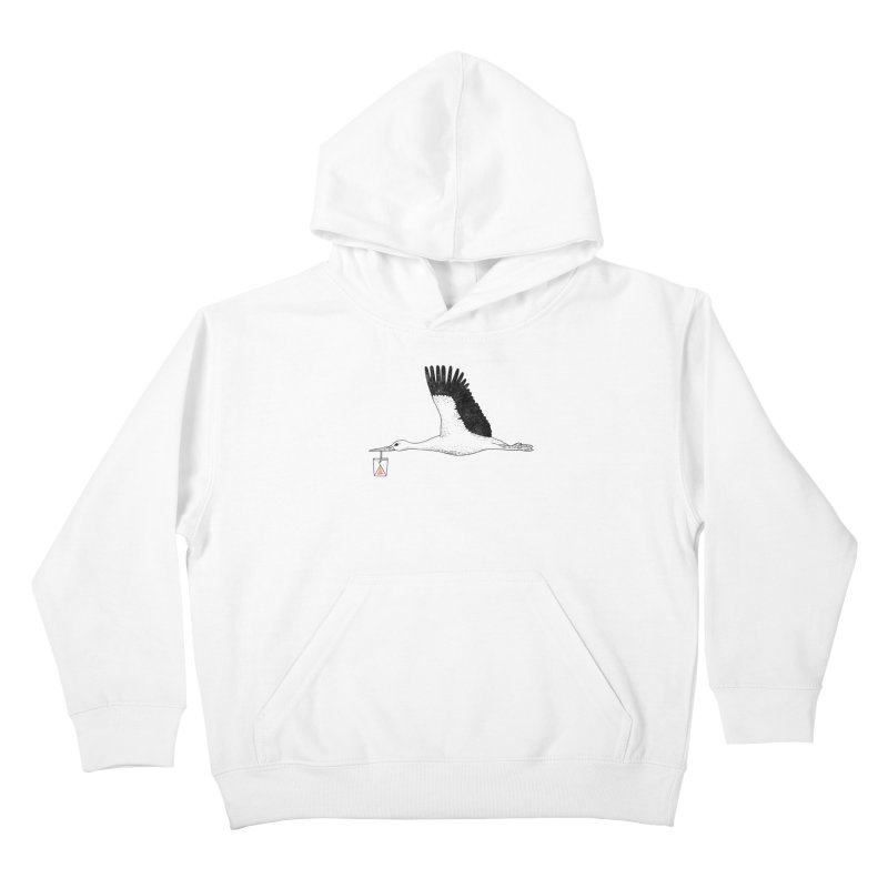 Special Delivery Kids Pullover Hoody by Martina Scott's Shop