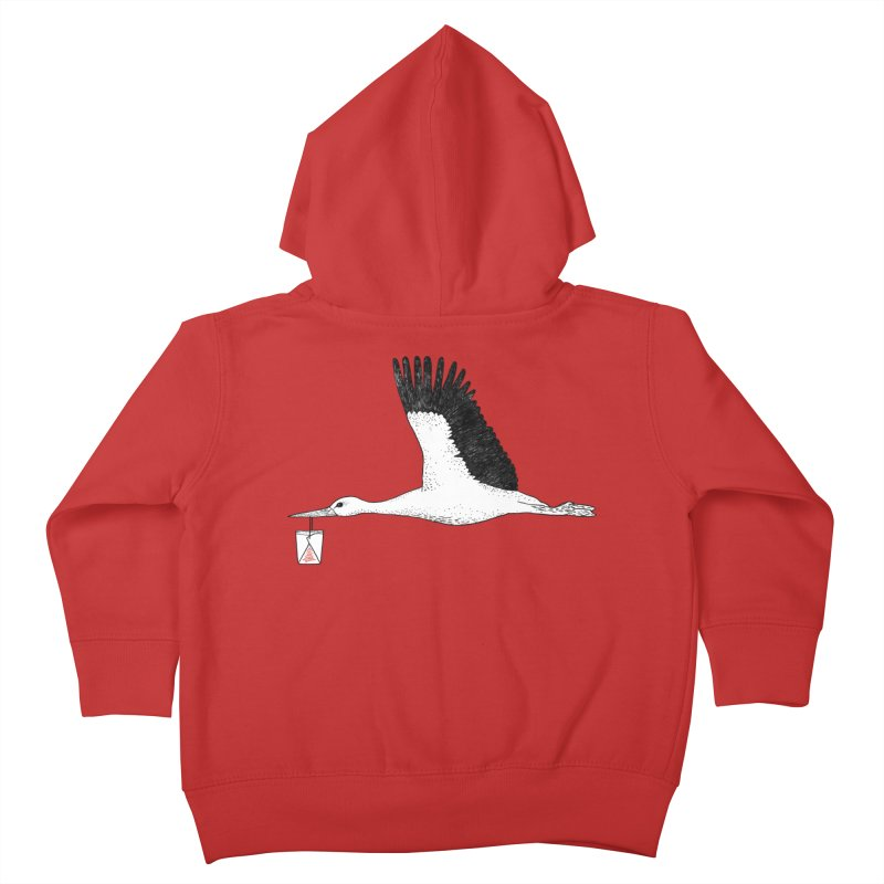 Special Delivery Kids Toddler Zip-Up Hoody by Martina Scott's Shop