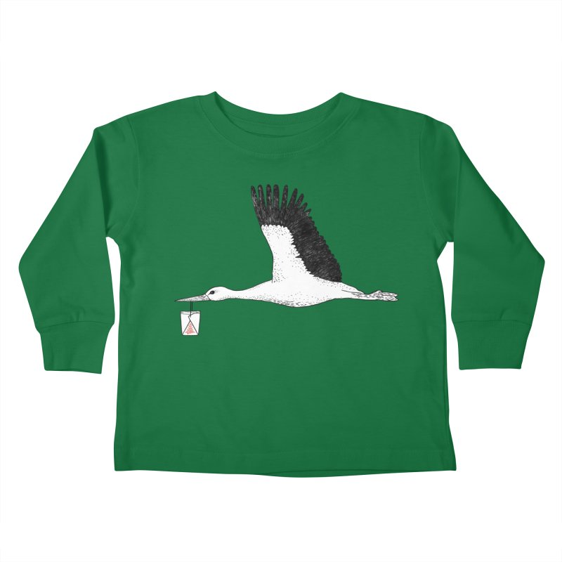 Special Delivery Kids Toddler Longsleeve T-Shirt by Martina Scott's Shop