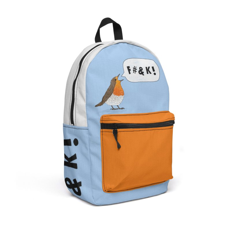 Fuck Robin Accessories Backpack Bag by Martina Scott's Shop