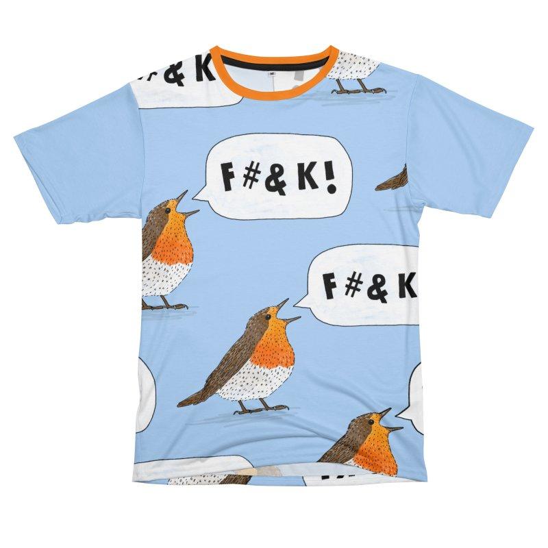 Fuck Robin Women's Unisex T-Shirt Cut & Sew by Martina Scott's Shop