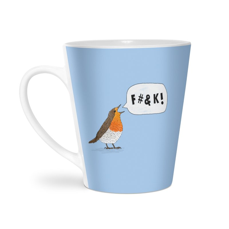 Fuck Robin Accessories Latte Mug by Martina Scott's Shop