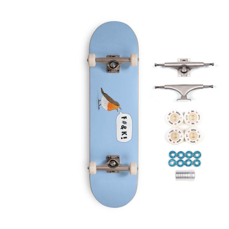 Fuck Robin Accessories Complete - Premium Skateboard by Martina Scott's Shop