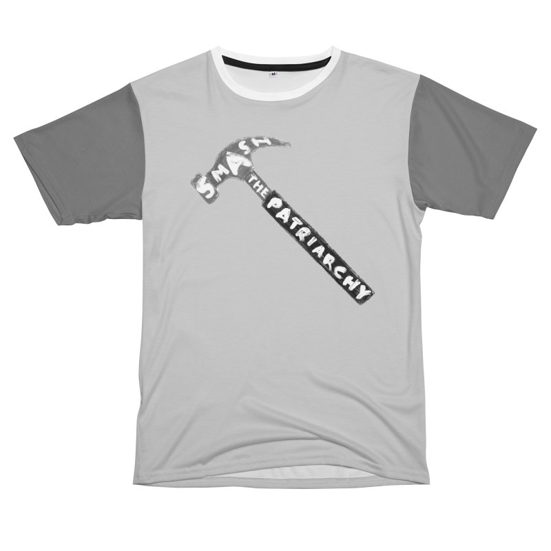 Smash The Patriarchy Men's T-Shirt Cut & Sew by Martina Scott's Shop