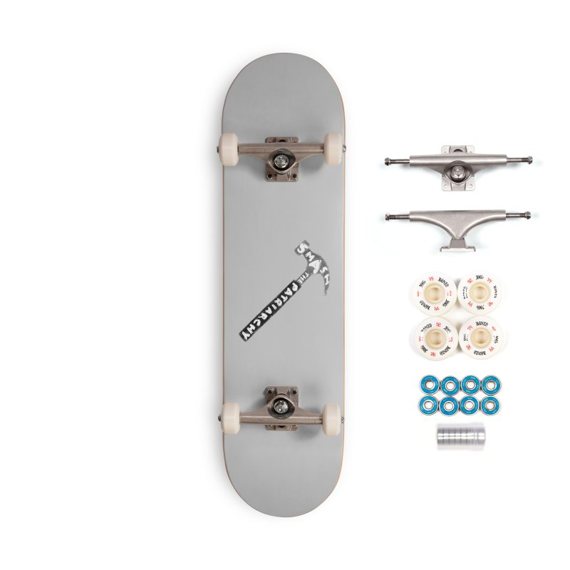 Smash The Patriarchy Accessories Complete - Premium Skateboard by Martina Scott's Shop
