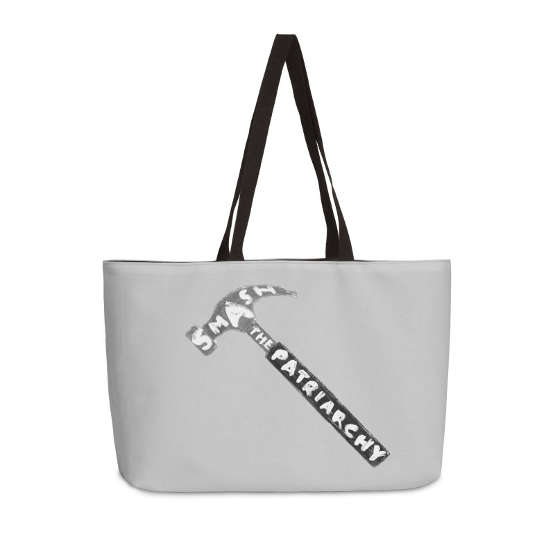 Smash The Patriarchy Accessories Weekender Bag Bag by Martina Scott's Shop