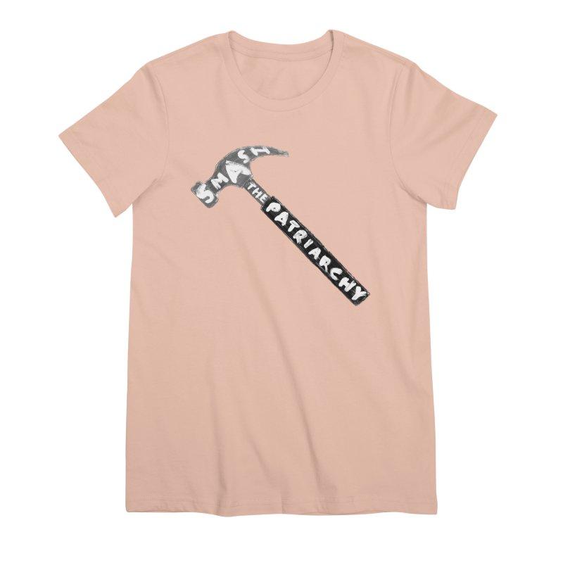 Smash The Patriarchy Women's Premium T-Shirt by Martina Scott's Shop