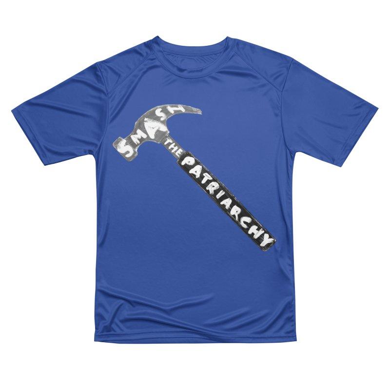 Smash The Patriarchy Men's Performance T-Shirt by Martina Scott's Shop