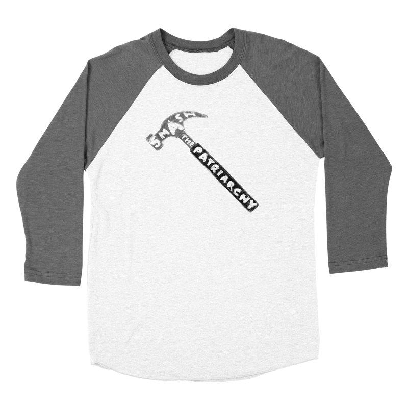 Smash The Patriarchy Women's Longsleeve T-Shirt by Martina Scott's Shop