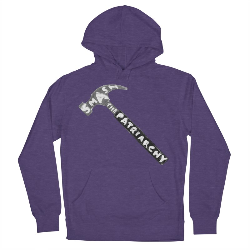Smash The Patriarchy Men's French Terry Pullover Hoody by Martina Scott's Shop