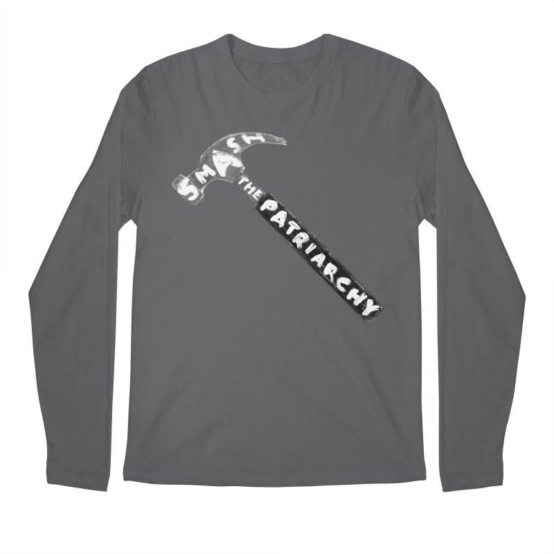 Smash The Patriarchy Men's Regular Longsleeve T-Shirt by Martina Scott's Shop