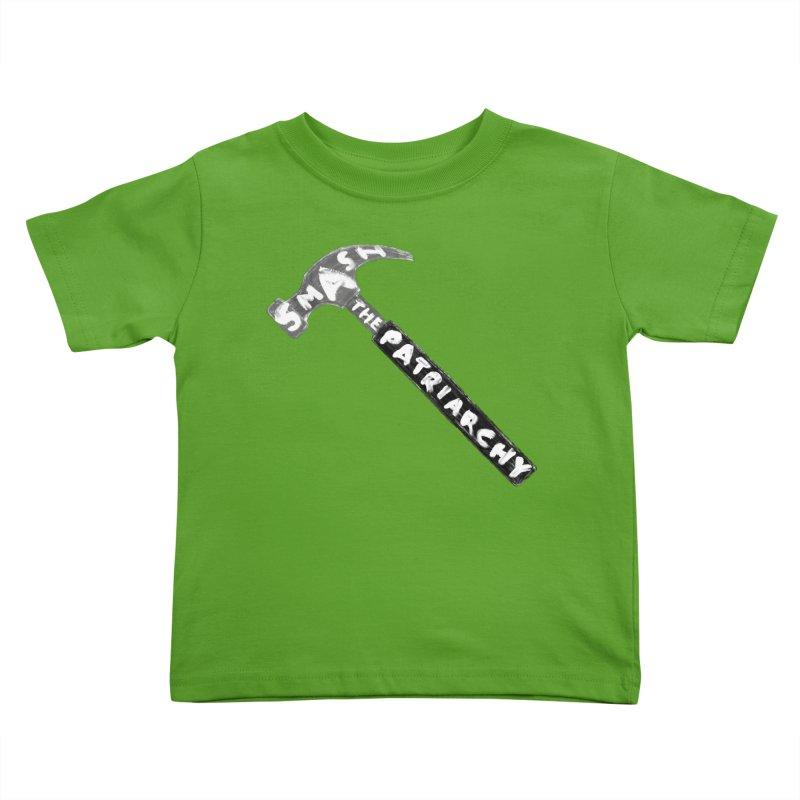 Smash The Patriarchy Kids Toddler T-Shirt by Martina Scott's Shop