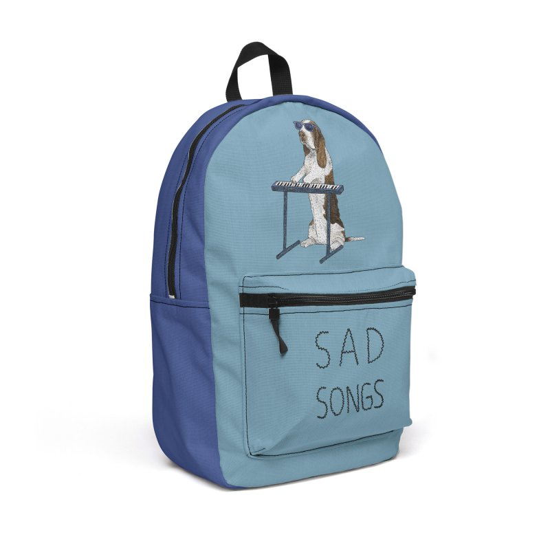 Sad Songs Accessories Backpack Bag by Martina Scott's Shop
