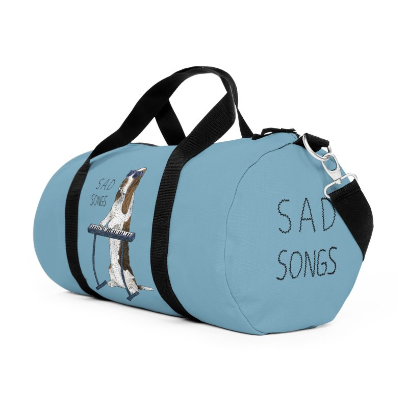 Sad Songs Accessories Duffel Bag Bag by Martina Scott's Shop