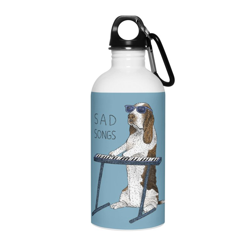 Sad Songs Accessories Water Bottle by Martina Scott's Shop