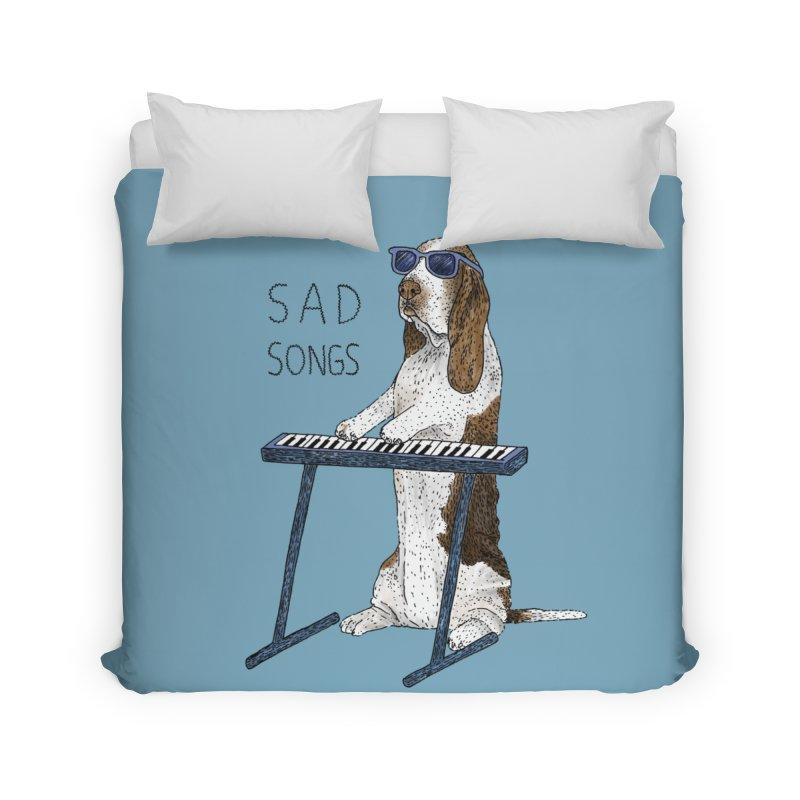 Sad Songs Home Duvet by Martina Scott's Shop