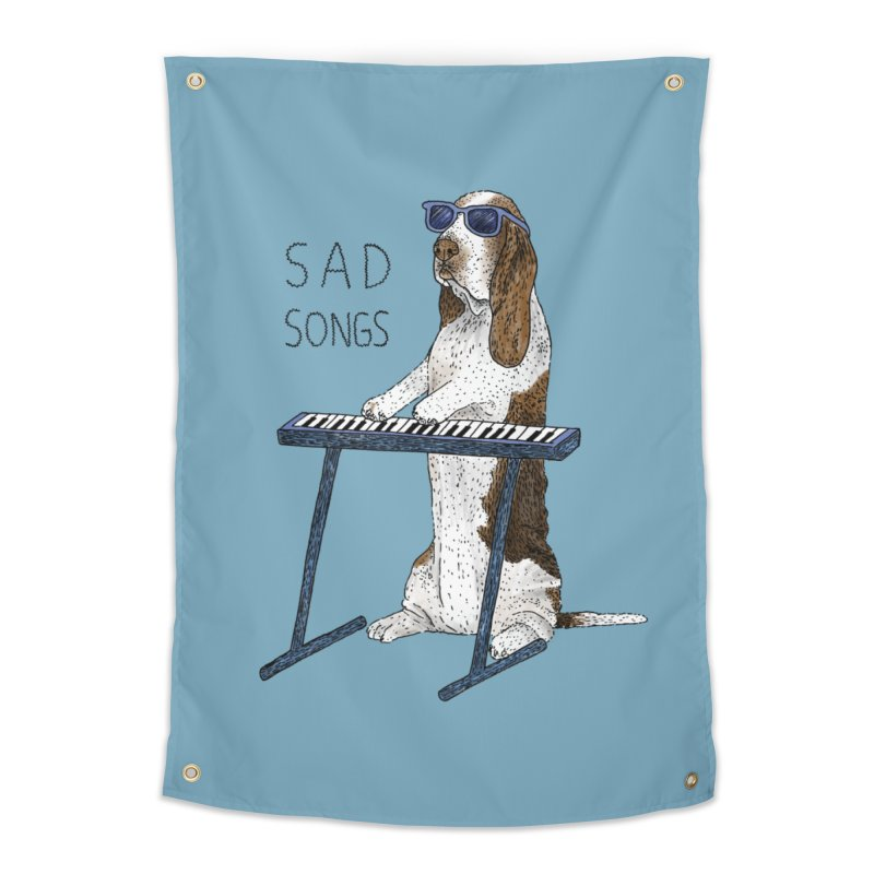 Sad Songs Home Tapestry by Martina Scott's Shop