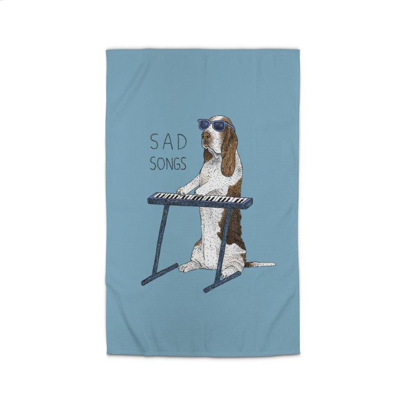 Sad Songs Home Rug by Martina Scott's Shop