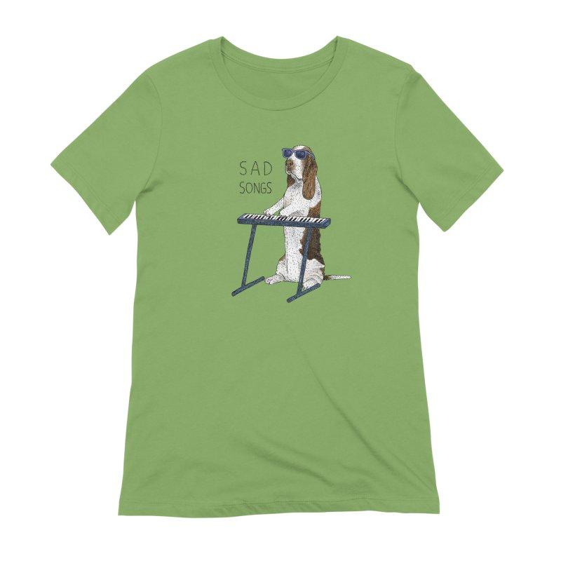 Sad Songs Women's Extra Soft T-Shirt by Martina Scott's Shop