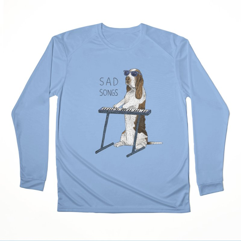 Sad Songs Men's Performance Longsleeve T-Shirt by Martina Scott's Shop