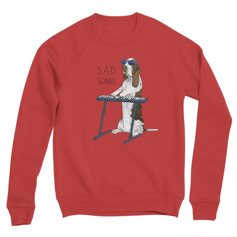 Sad Songs Men's Sponge Fleece Sweatshirt by Martina Scott's Shop