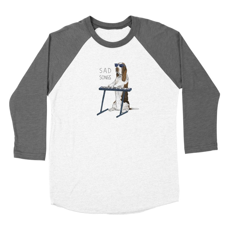 Sad Songs Women's Longsleeve T-Shirt by Martina Scott's Shop