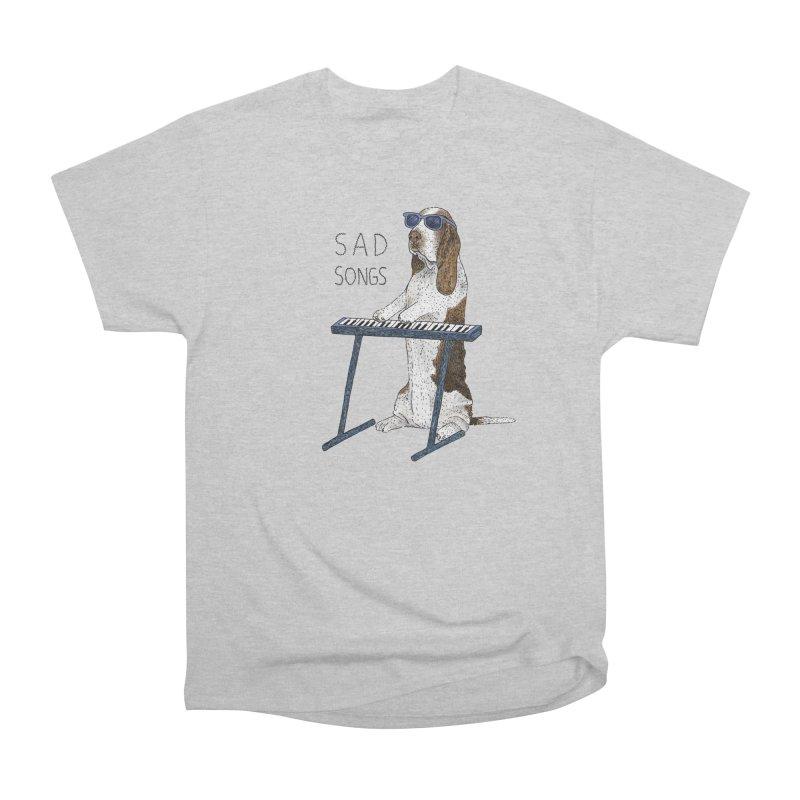 Sad Songs Women's Heavyweight Unisex T-Shirt by Martina Scott's Shop